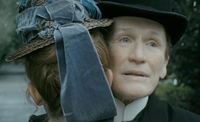 Glenn Close in disguise in Albert Nobbs
