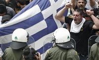 Riot docs heat up Thessaloniki