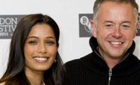 Freida Pinto y Michael Winterbottom