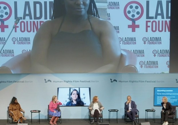 The magic of storytelling can combat injustices and human rights violations, say panellists at Berlin's Human Rights Film Festival